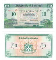 NORTHERN IRELAND Ulster Bank UNC 10 Pounds (2008) P-341a Banknote Paper Money