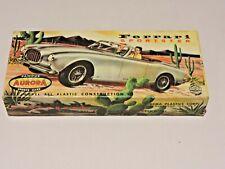 Model Car Parts Vintage Aurora Ferrari Sportster Box
