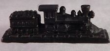 Vintage Train Cast Iron Figurine Miniature Paper Weight