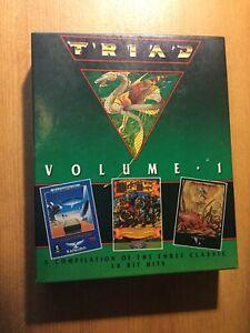 Atari St  TRIAD  Volume 1 Games Pack Atari ST