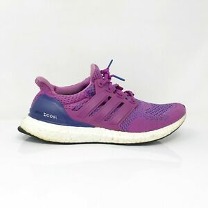 Adidas Womens Ultra Boost 1.0 B34051 Purple Flash Pink Running Shoes Size 9