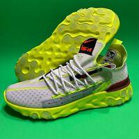 Nike React ISPA Men's *New* Platinum Volt Running Shoes CT2692-002 Men's Size 10