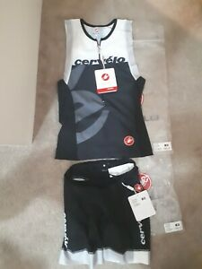 Castelli TRI top and shorts