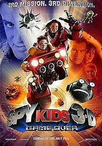 Spy Kids 3-D: Game Over (DVD, 2003) FREE POST