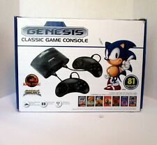 SEGA GENESIS Console with 81 Built-in Games and 2 Controllers