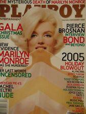 Playboy December 2005 | Marilyn Monroe Rachel Veltri Christine Smith   #3501+
