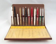 Vintage 1982 Screenline Metro Salesman Sample Pen and Pencil Set A