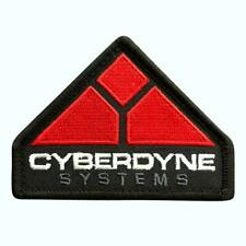 Terminator Movies Cyberdyne Systems Patch (Iron on Sew on - 3.0 X 2.25 Msp-8)