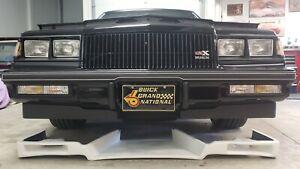 Buick Grand National Gnx Kenne-Bell 1 Piece Front Spoiler Air Dam Ram Air