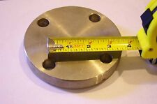"""Enlin / Echyay Stainless Steel 1 1/2""""  (5"""")  Pipe Blind Flange End Cap"""