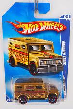 Hot Wheels 2009 ISSUE ARMORED TRUCK HW CITY WORKS CHROME BURNERZ