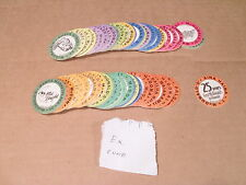 POGS McDONALDS MILKCAPS C/S of 50 NUMBERED 1-50 HARD TO FIND SET EXC CONDITION
