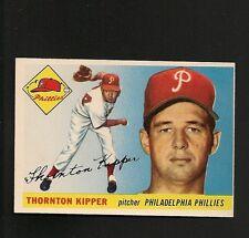5077* 1955 Topps # 62 Thorton Kipper NM-MT