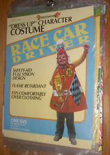 Childs Dress uup Character Costume Race Car Driver 1983