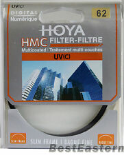 Genuine Hoya 62mm HMC UV (C) Multi-Coated Slim Filter 62 mm