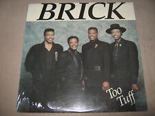 BRICK Too Tuff  FACTORY SEALED NEW Vinyl LP 1988 MCR-1001-LP Crease