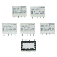 5pcs dc 5v smd g6k-2f-y señal de relé 8pin para omron relay