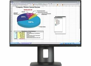 HP K7B99A8#ABA Z24n 24'' LED-Backlit LCD Monitor, Black used, Grade A