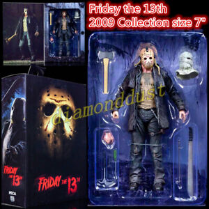 """NECA 7"""" Tall Jason Voorhees Ultimate Friday the 13th 2009 Mask Action Figure Toy"""