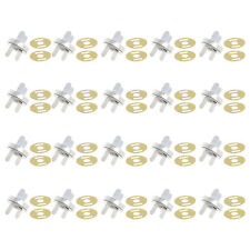 20x Magnetic Clasps Buckle Snaps Buttons for Purses Handbag Bag Sewing Craft New