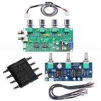 12-24V NE5532 Stereo Amplifier Pre-amp Preamplifier Tone Board Audio With Cable