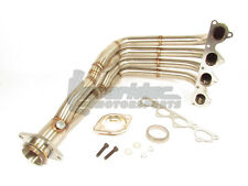 1320 H22 Swap Exhaust Manifold Header w/Step Collector Acura Integra Honda Civic