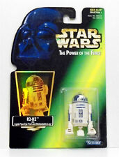 Star Wars POTF R2-D2 w/ Light-Pipe Eye Port Retractable Leg Green Card