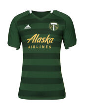 Adidas Portland Timbers Medium Home Jersey Authentic Men's Soccer Jersey MLS