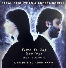 Sarah Brightman CD Single Time To Say Goodbye - Germany (EX/EX)