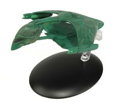 Eaglemoss Diecast Star Trek Romulan Warbird #5 With Magazine