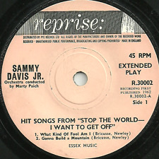 "SAMMY DAVIS JR - HIT SONGS FROM ""STOP THE WORLD - I WANT TO GET OFF"" REPRISE"