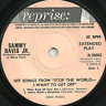 """SAMMY DAVIS JR - HIT SONGS FROM """"STOP THE WORLD - I WANT TO GET OFF"""" REPRISE"""