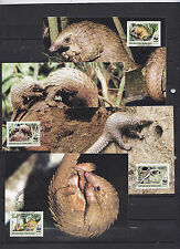 Togolaise 2010 - Maxi Cards - Dieren / Animals / Tiere  (WWF / WNF)