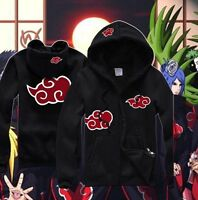 Anime Naruto Akatsuki Itachi Clothing Sweatshirt Hoodie Casual Unisex Coat