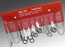 Facom 20 Piece car radio removal tool Set DX.25