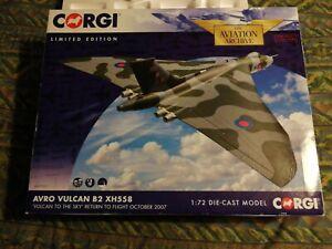1:72 Corgi AA27201 Avro Vulcan B2 XH558 Vulcan To The Sky Return To Flight Oct