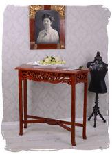 Wall Side Table Console Art Nouveau Bracket Mahogany Wood NEW