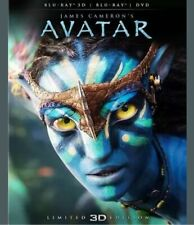 Avatar (Blu-ray/DVD, 2012, 2-Disc Set, Limited Edition 2D/3D) Brand New Unopened