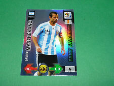 MASCHERANO FANS' ARGENTINA PANINI FOOTBALL FIFA WORLD CUP 2010 CARD ADRENALYN XL