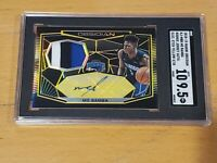 2018 Panini Obsidian Mo Bamba RC Auto /10 SGC 9.5/10 RPA 3 Color Patch Rookie!!!