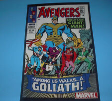 MARVEL COMIC COVERS THE AVENGERS GIANT MAN GOLIATH #28 POSTER PIN UP