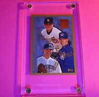 1998 Topps MINTED IN COOPERSTOWN #264 Roy Halladay Rookie RC w Matt Clement