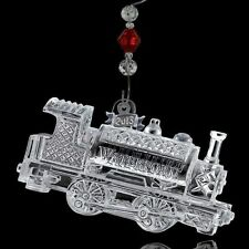 2013 Waterford Crystal TRAIN Christmas Ornament New in Box 160066