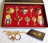 10 pcs Sailor Moon Tsukino Usagi Crystal  Stick Wand  Pendant Necklace Keychain