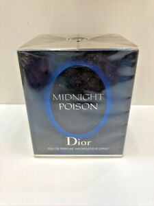 Midnight Poison Christian Dior Women Perfume EDP Spray 3.4 oz / 100 ml NIB Seal
