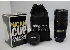24-70 mm Zoomable Termos Coffee Camera Lens Stainless Steel Cup Mugs for Nikon