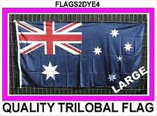 Australian flag Australia flag heavy duty flag large Trilobal + FREE sticker