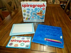 The Original SPIROGRAPH 30: 100% Design Wheels & Putty Missing 2 Pens & 2 Papers