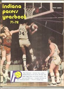 1971-72 Indiana Pacers yearbook
