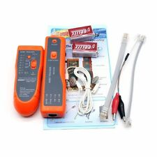Network Cable Tester RJ45 RJ11  Wire Tracker Tool LAN Ethernet Testing Kit